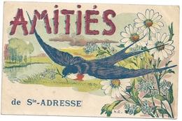 76  Sainte-Adresse (le Havre) Amitiés De Saint-Adresse (hirondelle) - Sainte Adresse