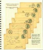 Belgique 1886 - Lot EP (6G23184) DC0670 - Stamped Stationery