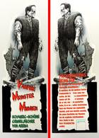 Marque-page Signet : FRANKENSTEIN éditions ARENA : Vampire Monster Mumien En Allemand - Bookmarks
