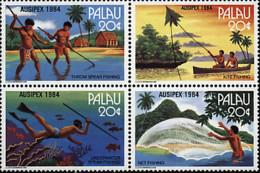 Ref. 6839 * NEW *  - PALAU . 1984. AUSIPEX 84. INTERNATIONAL PHILATELIC EXHIBITION. AUSIPEX 84. EXPOSICION FILATELICA IN - Palau