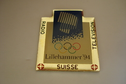 20181115-2259 JO JEUX OLYMPIQUES LILLEHAMMER 94 RADIO TELEVISION SUISSE - Olympic Games