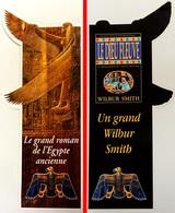 Marque-page Signet : Roman LE DIEU DU FLEUVE De Wilbur SMITH Sur L'Egypte Ancienne - Bookmarks