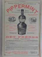 PUB 1902 - Pétroles Éclairage & Industrie I. F. & B. Rue Fongate Marseille, Pippermint Get Revel 31 - Advertising