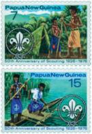 Ref. 45040 * NEW *  - PAPUA AND NEW GUINEA . 1976. 50th ANNIVERSARY OF THE SCOUTS. 50 ANIVERSARIO DEL ESCULTISMO - Papúa Nueva Guinea