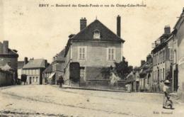 10 - Aube - Ervy - Boulevard Des Grands Fossés Et Rue Du Champ-Colas-Horiot - C 1564 - Ervy-le-Chatel