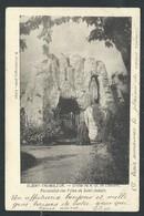 +++ CPA - BLEGNY TREMBLEUR - Grotte De ND De Lourdes - Pensionnat - Cachet RELAIS BARCHON 1906   // - Blegny