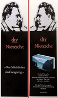 Marque-page Signet : Les œuvres Complète De NIETZSCHE En Allemand - éditions DTV - Bookmarks