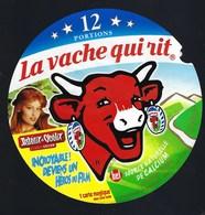 "Etiquette Fromage La Vache Qui Rit   "" Astérix Obélix Contre Cesar ""falbala Laeticia Casta""  12   Portions  "" - Cheese"