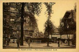 Cpa PARIS XVII - Place Saint Ferdinand - District 17