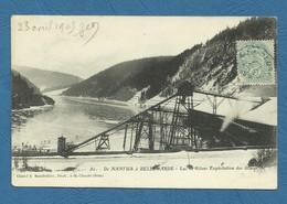 De NANTUA à BELLEGARDE - Lac De Silans Exploitation Des Glaces  ( Ref 36) - Nantua
