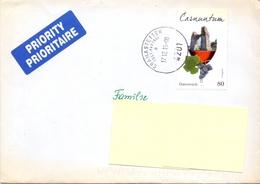 Oostenrijk - 2015 - Gelopen Brief - Oostenrijk - Belgie - 2011-... Lettres