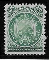 Bolivie N°14 - Neuf * Avec Charnière - TB - Bolivie