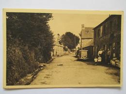 CPA Peumerit Quintin Entrée Du Bourg  1940 - Autres Communes