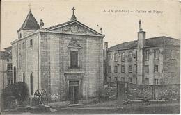 D69  - ALIX - EGLISE ET PLACE - Fontaine - France