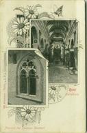 FRIETI - CATTEDRALE + FINESTRA PALAZZO SECENARI  - EDIZ. ALTEROCCA 1900 (2610) - Rieti