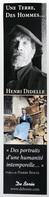 Marque-page Signet : Roman Une Terre, Des Hommes ... Henri DIDELLE éditions De Borée - Bookmarks