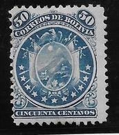 Bolivie N°16 - Neuf Sans Gomme - Aminci Aspect TB - Bolivie