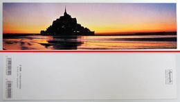 Marque-page Signet : Panorama Touristique : Couché De Soleil Au Mont Saint-Michel éditions Aquarupella - Bookmarks