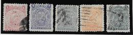 Bolivie N°34/38 - Oblitéré - B/TB - Bolivie