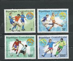 CENTRAFRIQUE  Scott C344-C347 Yvert PA397-PA400 ** (4) Cote 14,00 $ 1990 - Centrafricaine (République)