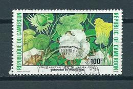 1988 Cameroon Flowers,fleurs,blümen Used/gebruikt/oblitere - Kameroen (1960-...)