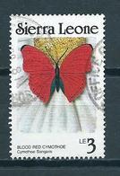 1987 Sierra Leone Vlinder,papillon,schmetterlinge Used/gebruikt/oblitere - Sierra Leone (1961-...)