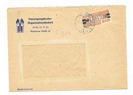 DDR ZKD Brief Wertstreifen Mi.29 Berlin 1959, VOB - [6] Democratic Republic