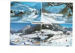20848 - Schwenden Diemtigtal  Winter (format 10X15) - BE Berne