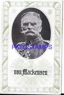 103284 GERMANY AUGUST VON MACKENSEN MILITARY & POLITICO POSTAL POSTCARD - Deutschland