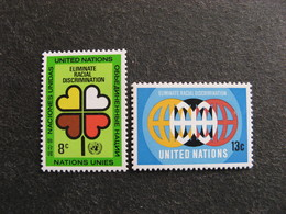 O.N.U. Siège De New-York: TB Paire N° 213 Et N° 214, Neufs XX. - New York -  VN Hauptquartier