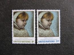 O.N.U. Siège De New-York: TB Paire N° 217 Et N° 218, Neufs XX. - New York -  VN Hauptquartier