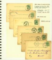 Belgique 1879 - Lot EP (6G23184) DC0676 - Stamped Stationery