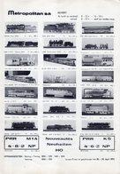 Catalogue METROPOLITAN INFORMATIONS Bulletin N. 13 Mai-Juin 1973 - German