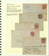 Belgique 1879 - Lot EP (6G23184) DC0677 - Stamped Stationery