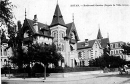 1665 - Cpa 17 Royan - Boulevard Garnier - Royan