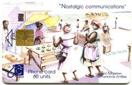 St. Maarten - Tel-Em - SX-TEM-0009A - Nostalgic Communications - Market Place (GEM1A) - Antilles (Netherlands)