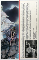 Ancien & Joli Marque-page éditions D'ART Pomegranate En Californie USA - ROGER DEAN : Jade Sea - Bookmarks