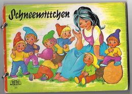BLANCHE NEIGE, SCHNEEMITTCHEN  - Edit. OTTO MORAVEC N° 511 - Texte En Allemand - Boeken Voor Kinderen