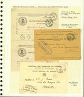Belgique - Lot Cartes Correspondances De Service (6G23184) DC0680 - Belgium