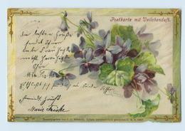 X1E25/ C. Klein Litho AK  Postkarte Mit Veilchenduft 1901 - Mailick, Alfred