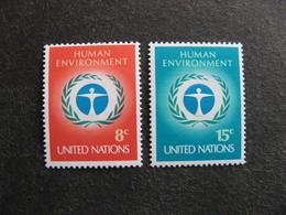 O.N.U. Siège De New-York: TB Paire N° 222 Et N° 223, Neufs XX. - New York -  VN Hauptquartier