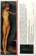 Ancien & Joli Marque-page éditions D'ART Pomegranate En Californie USA - J McNEILL WHISTLER : The Little Blue Girl - Bookmarks