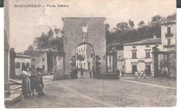 Viterbo-bagnoregio-porta Albana-viagg.1916-animata-rara - Viterbo