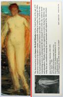 Ancien & Joli Marque-page éditions D'ART Pomegranate En Californie USA - J McNEILL WHISTLER : Venus - Bookmarks