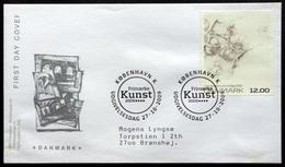 Denmark 2009 KUNST  MiNr.1543   FDC  ( Lot  6549 ) FOGHS COVER - FDC