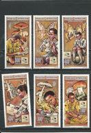 CENTRAFRIQUE  Scott 1074-1079 Yvert 1020-1025 ** (6) Cote 15,00 $ 1995 - Centrafricaine (République)