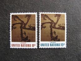 O.N.U. Siège De New-York: TB Paire N° 225 Et N° 226, Neufs XX. - New York -  VN Hauptquartier