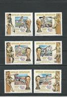 CENTRAFRIQUE  Scott 1081-1086 Michel 1665-1670 ** (6) Cote 14,00 $ 1995 - Centrafricaine (République)