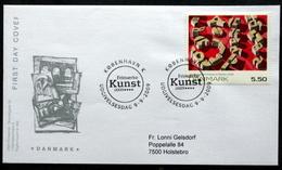 Denmark 2009 KUNST  MiNr.1538   FDC  ( Lot  6549 ) FOGHS COVER - FDC
