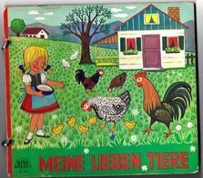 MEINE LIEBEN TIERE  - Edit. OTTO MORAVEC N° 785 - Texte En Allemand - Boeken Voor Kinderen